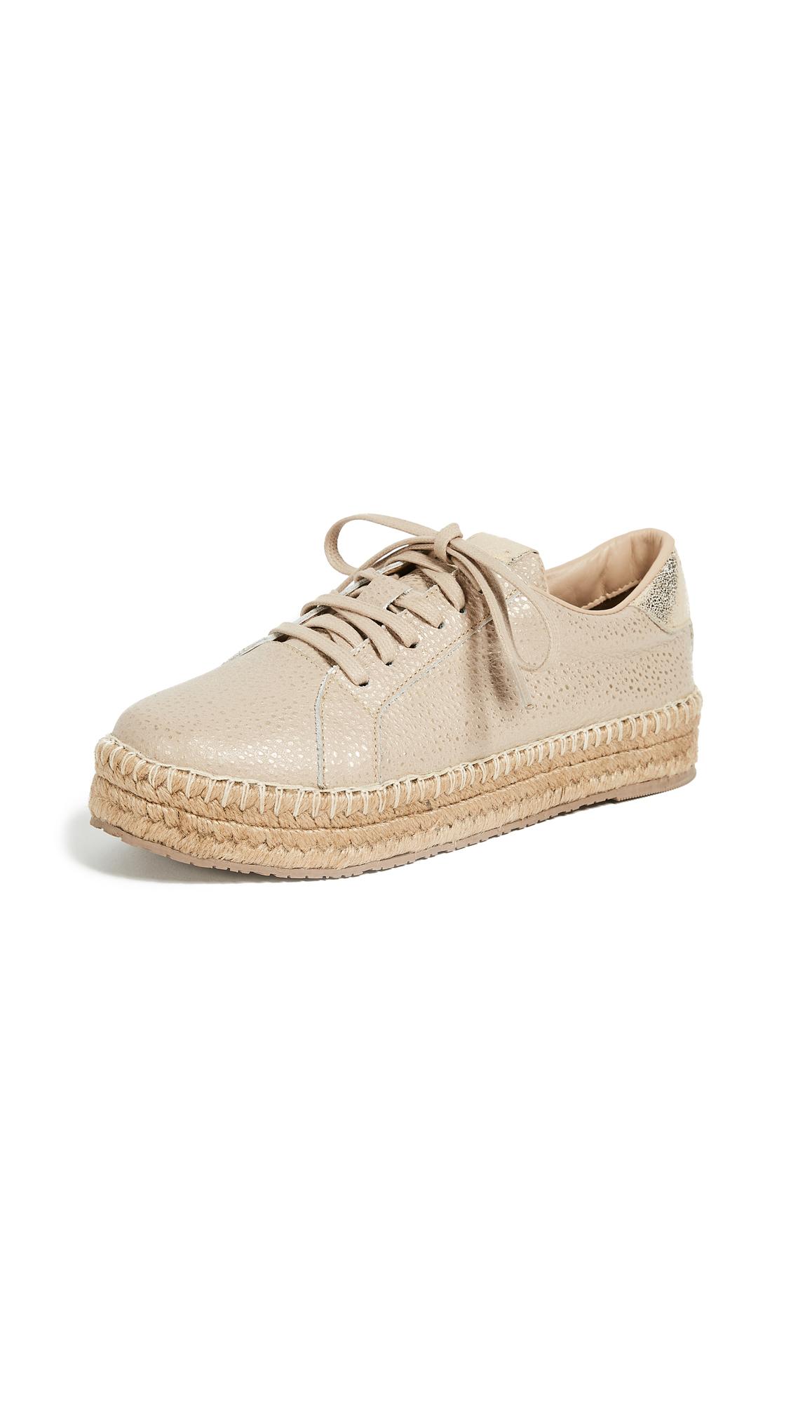 KAANAS Arizona Sneaker Espadrilles - Cappuccino