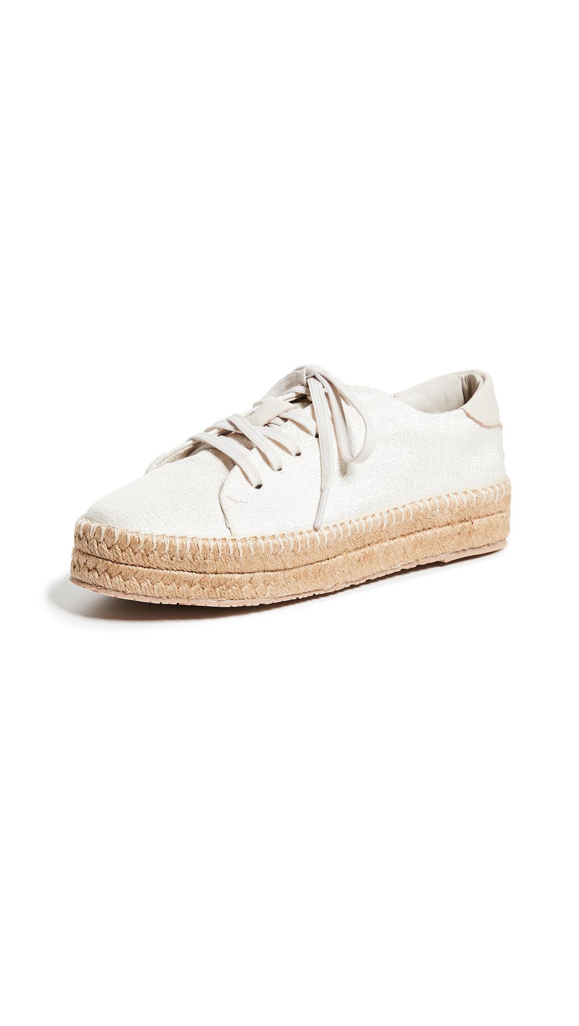 KAANAS Nogales Sneaker Espadrilles - Ivory