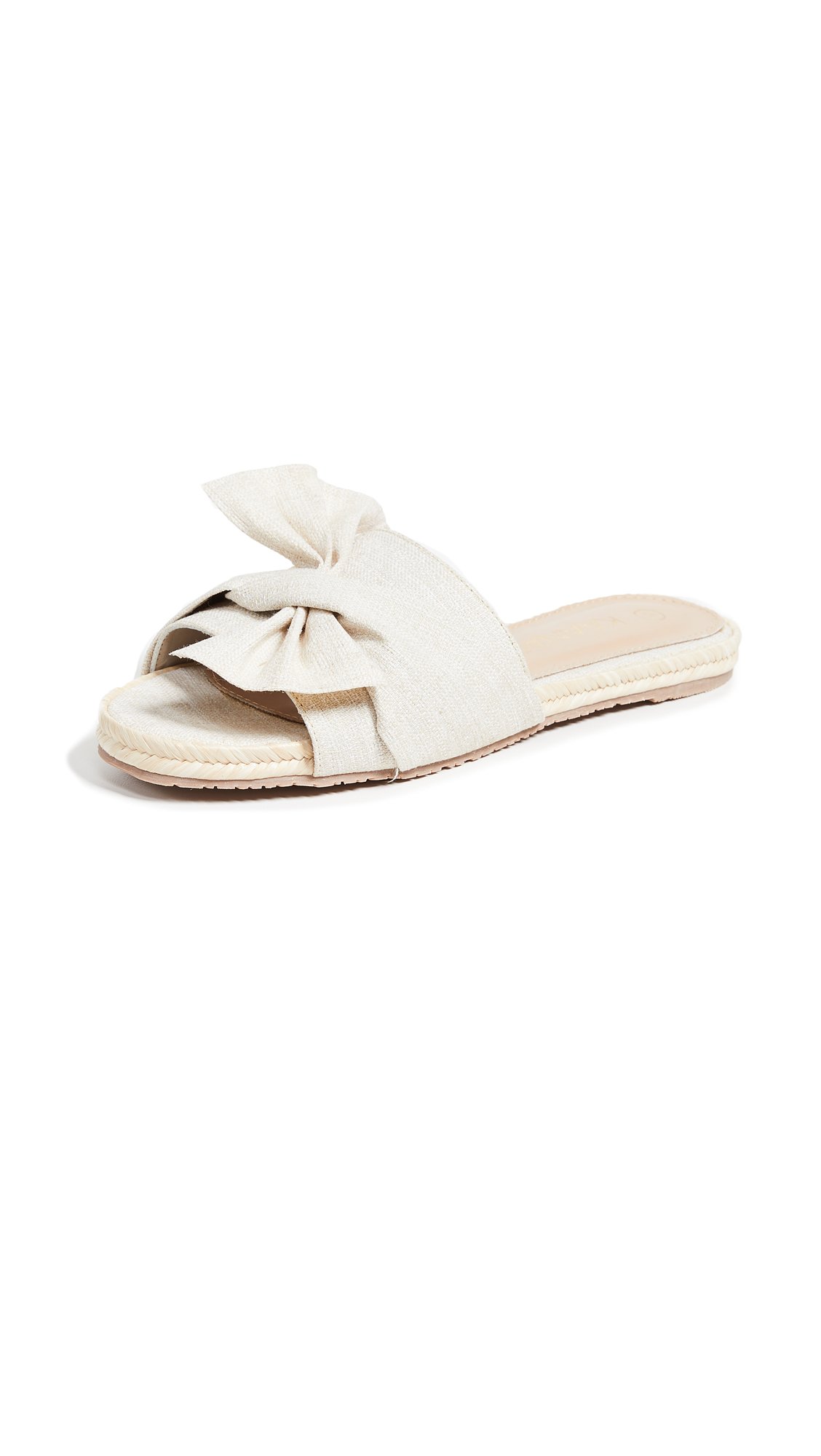 Photo of KAANAS Sausalito Bow Slides - buy KAANAS shoes