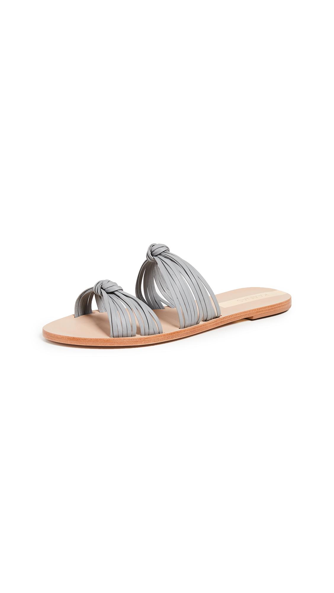 KAANAS Iguazu Multi Strap Sandals - Taupe