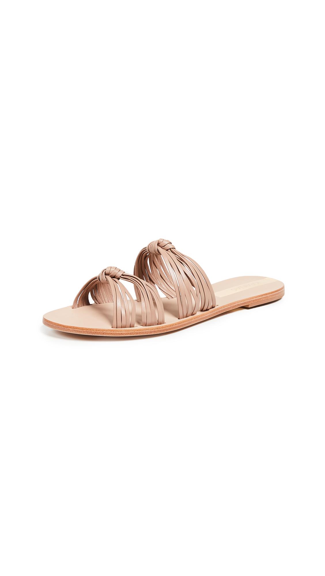 KAANAS Iguazu Multi Strap Sandals - Nude