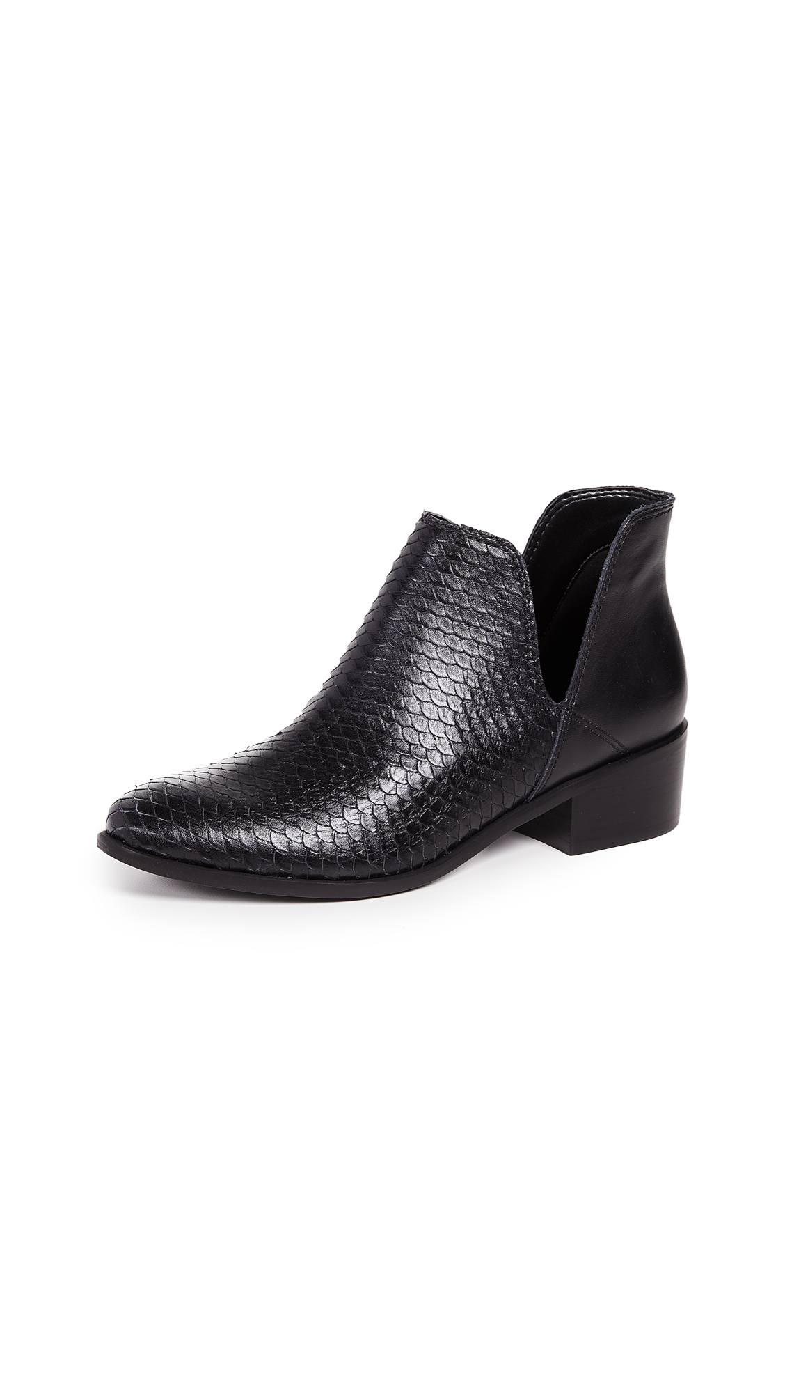 KAANAS Como Scale Booties - Black