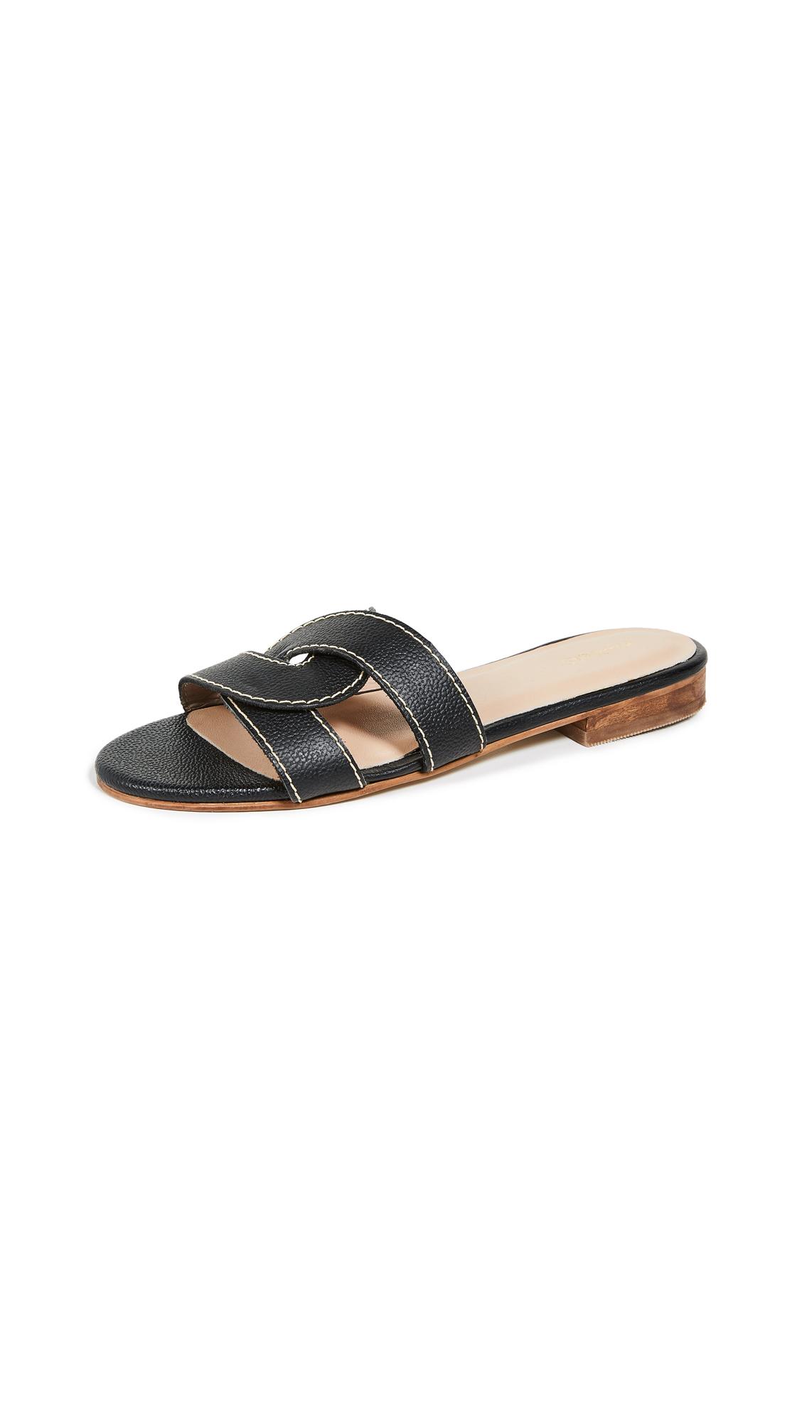KAANAS Santorini Infinity Sandals - Black