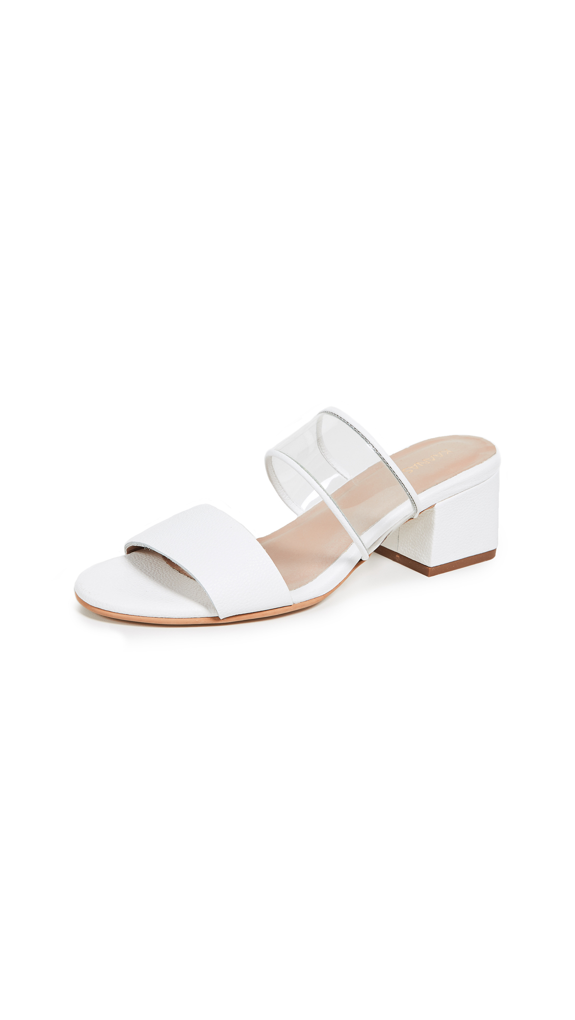 KAANAS Malta Double Band City Slides - White