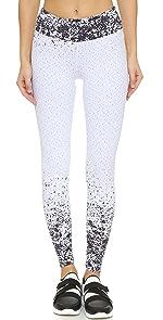 Pixelate Cropped Leggings                KORAL ACTIVEWEAR