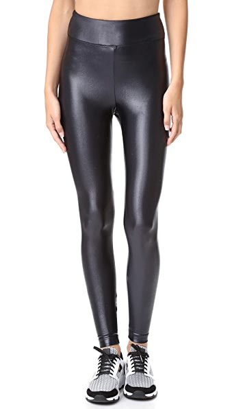 KORAL ACTIVEWEAR Lustrous High Rise Leggings - Black