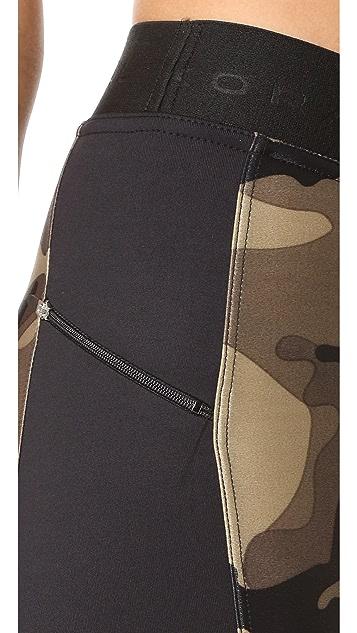KORAL ACTIVEWEAR Military Camo Hammer Cropped Leggings