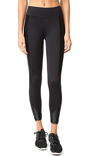 KORAL ACTIVEWEAR Curve Crop Leggings - Black