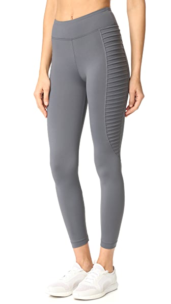 KORAL ACTIVEWEAR New Wave Stair Leggings - Cool Grey