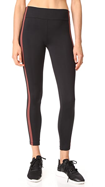KORAL ACTIVEWEAR Seclusion Catalyst High Rise Leggings - Claret/Black