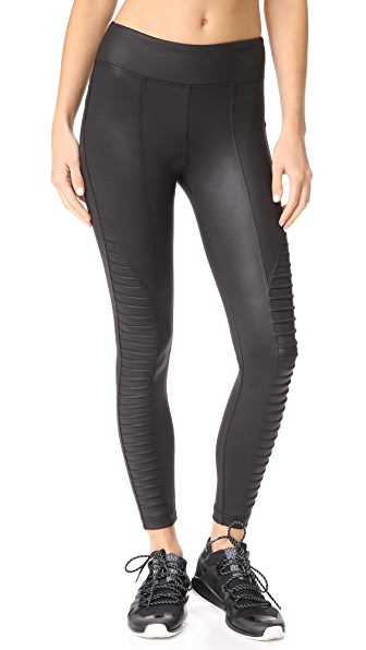 KORAL ACTIVEWEAR Alarum Penalty Leggings In Tap Shoe