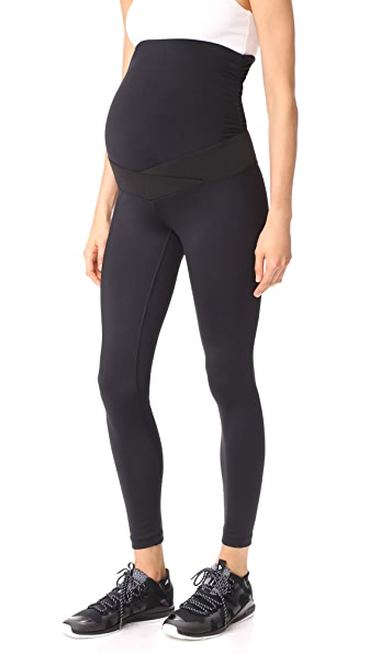 KORAL ACTIVEWEAR Cadence Maternity Leggings - Black