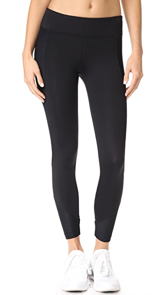 KORAL ACTIVEWEAR Curve Crop Leggings In Black