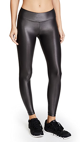 KORAL Lustrous High Rise Leggings in Lead