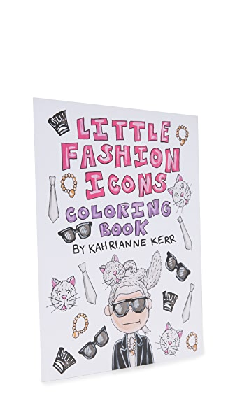 KAHRI Little Fashion Icons Coloring Book