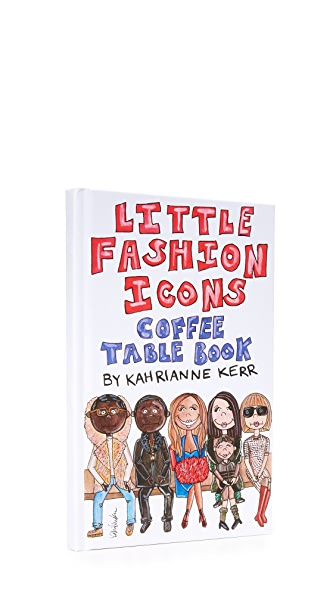 KAHRI Little Fashion Icons Coffee Table Book