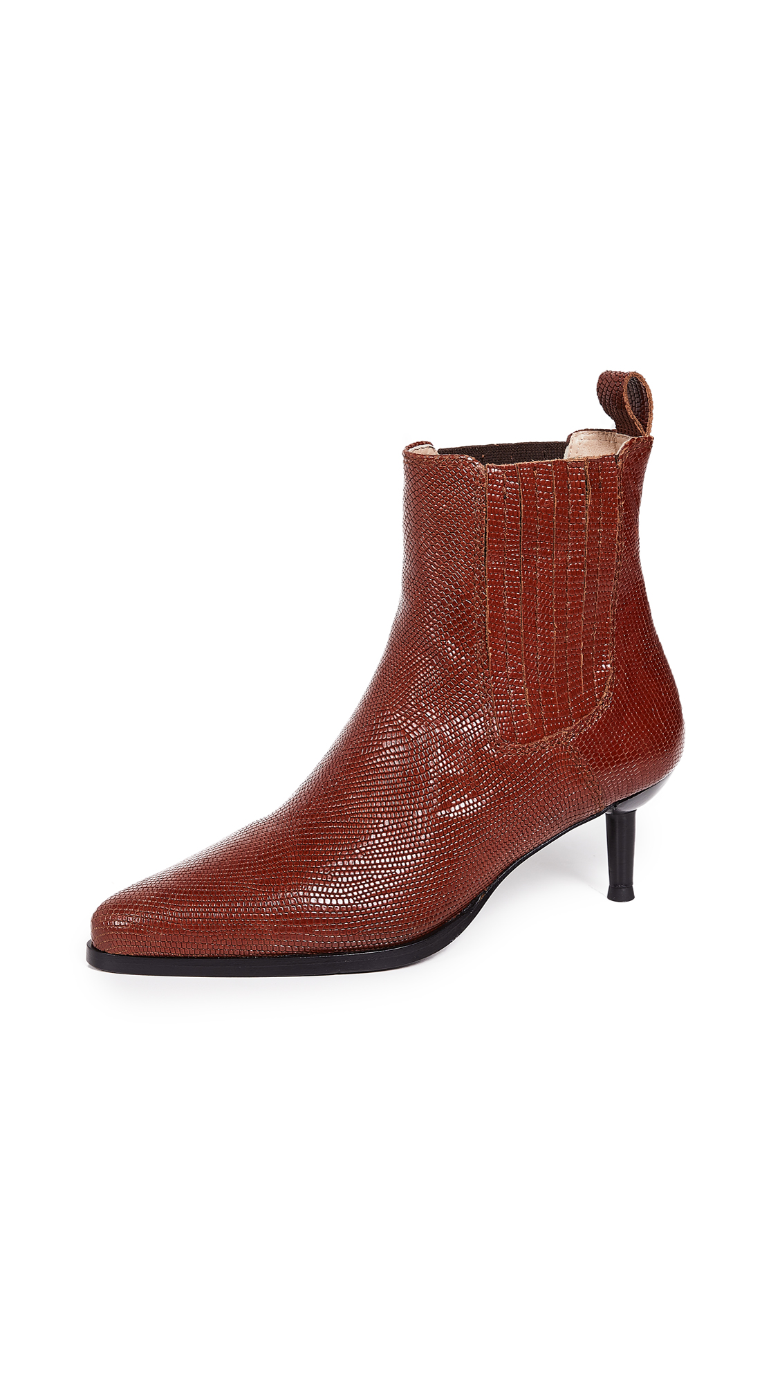 Kalda Sola Booties - Brown