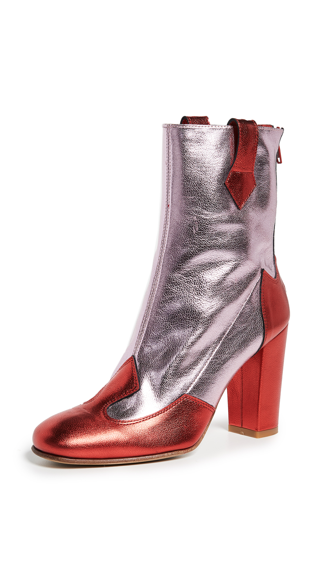Kalda Lou Boots - Pink/Red