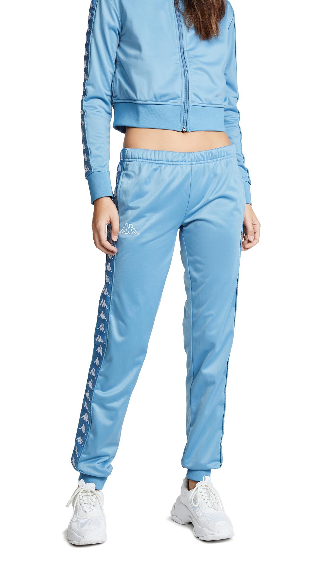 Kappa Banda Wrastoria Pants In Blue Cobalt/White