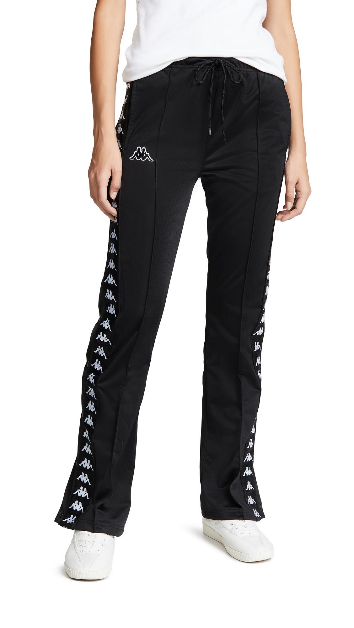 Banda Snap Pants, Black/White