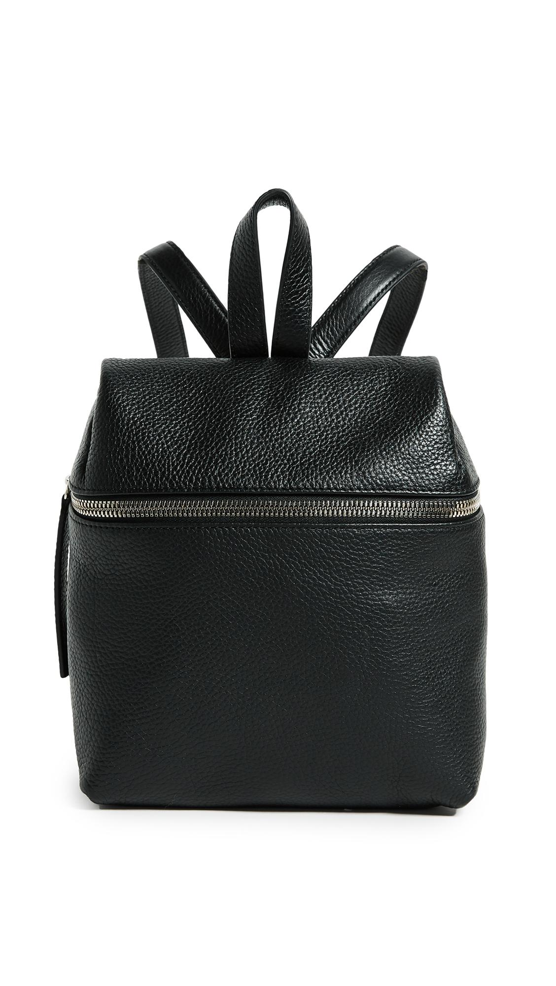 KARA Classic Small Backpack - Black