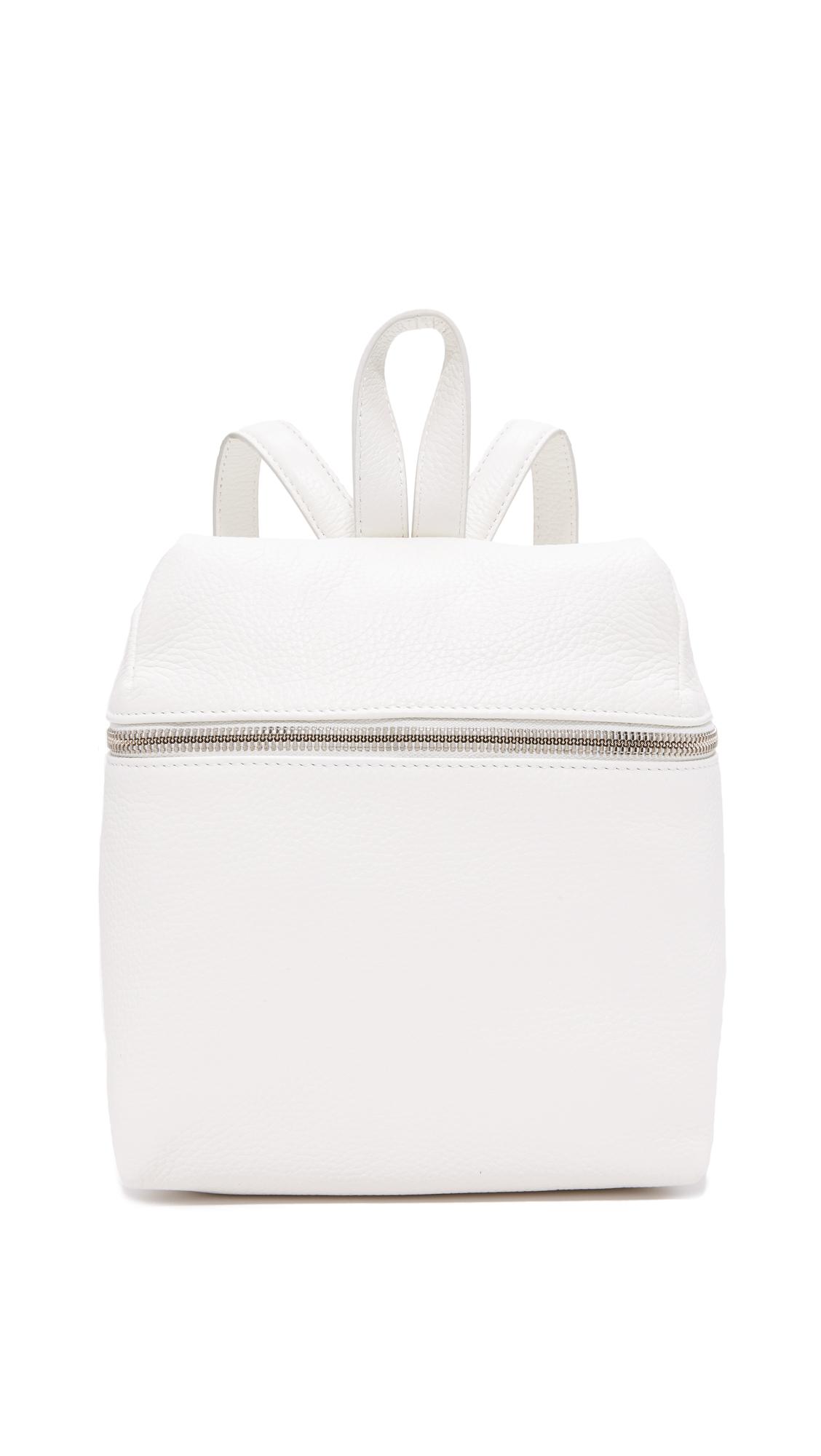 KARA Small Backpack - White