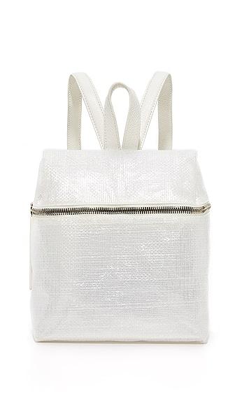KARA Tarp Small Backpack - White