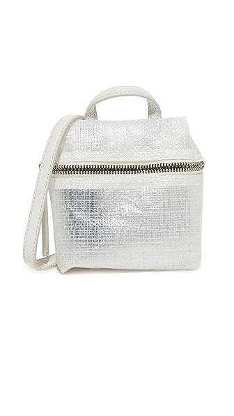 KARA Tarp Micro Satchel - White