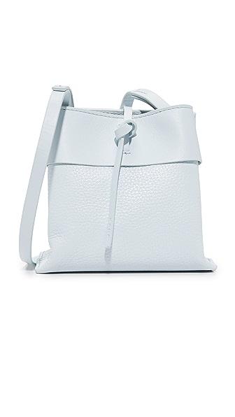 KARA Nano Tie Cross Body Bag - Powder Blue