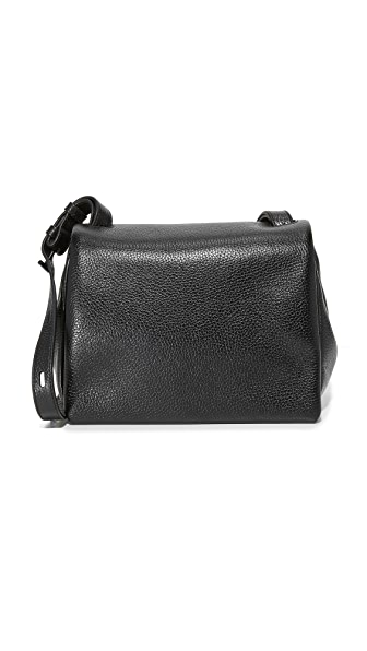 KARA Mini Messenger Bag - Black