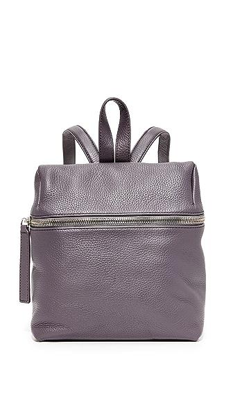 KARA Classic Small Backpack - Slate Grey