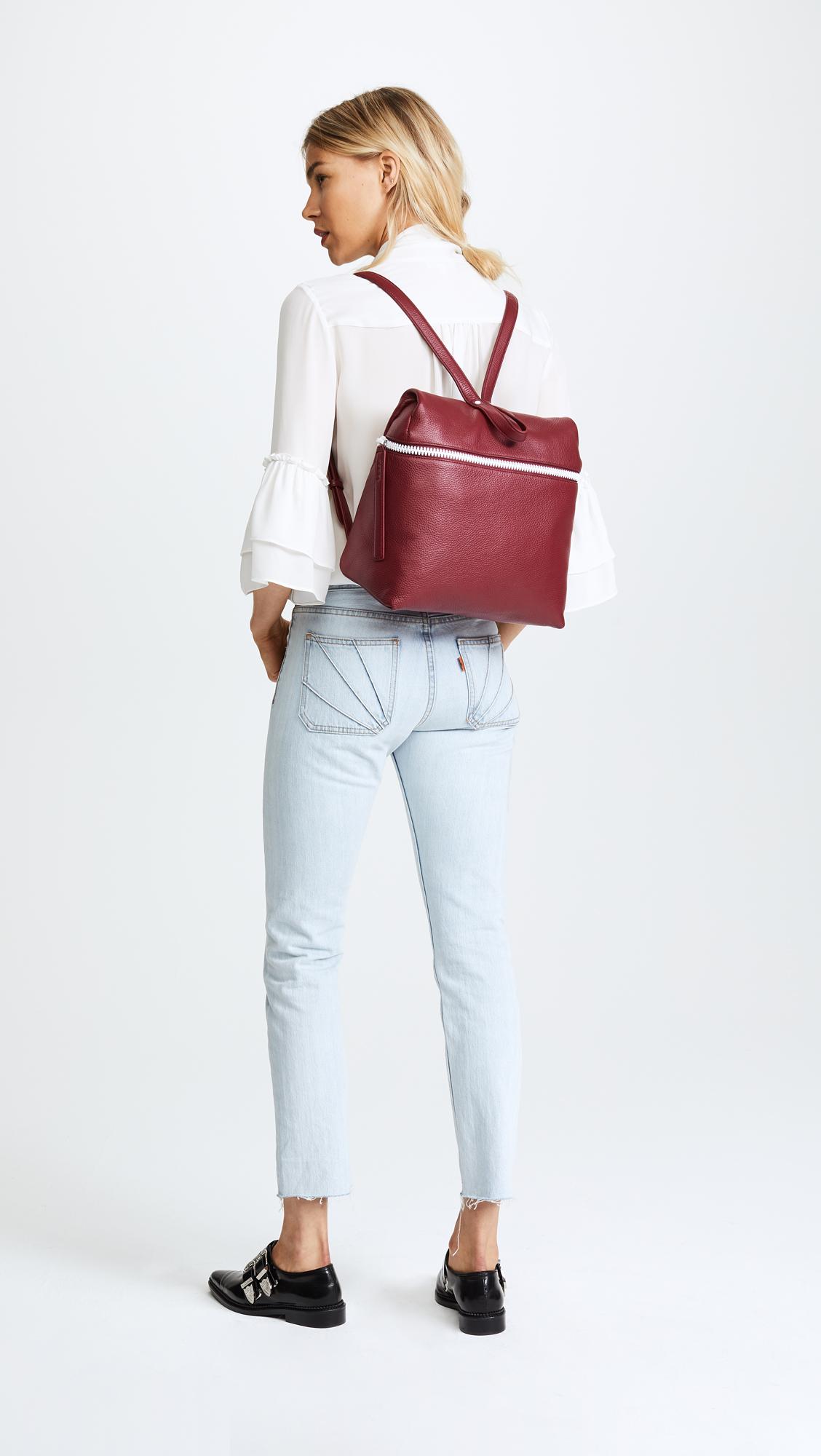 6e79670a8f KARA Pebble Leather Backpack