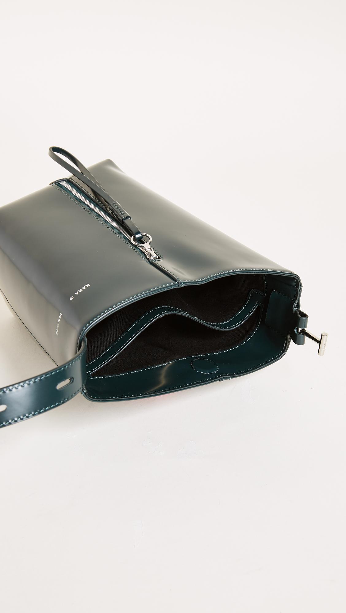 d64673c4d10d KARA Polished Panel Pail Bucket Bag | SHOPBOP