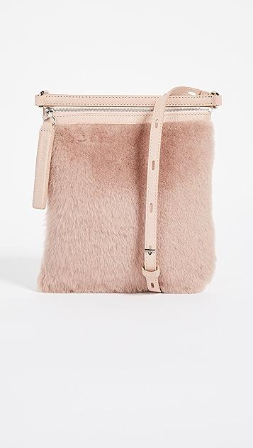 KARA Shearling Waist Bag