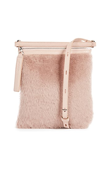 Shearling Waist Bag