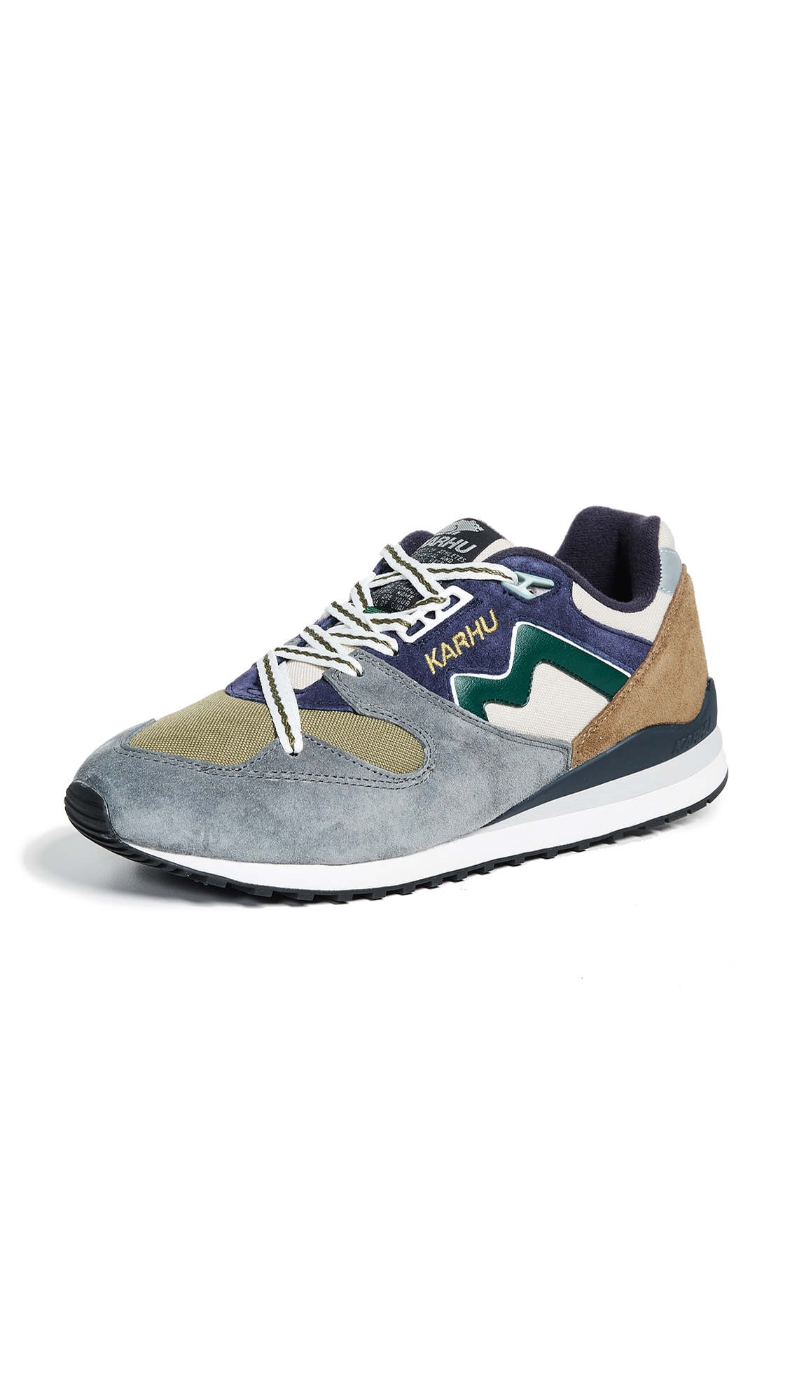 KARHU Men'S Synchron Color-Block Lace-Up Sneakers in Multi
