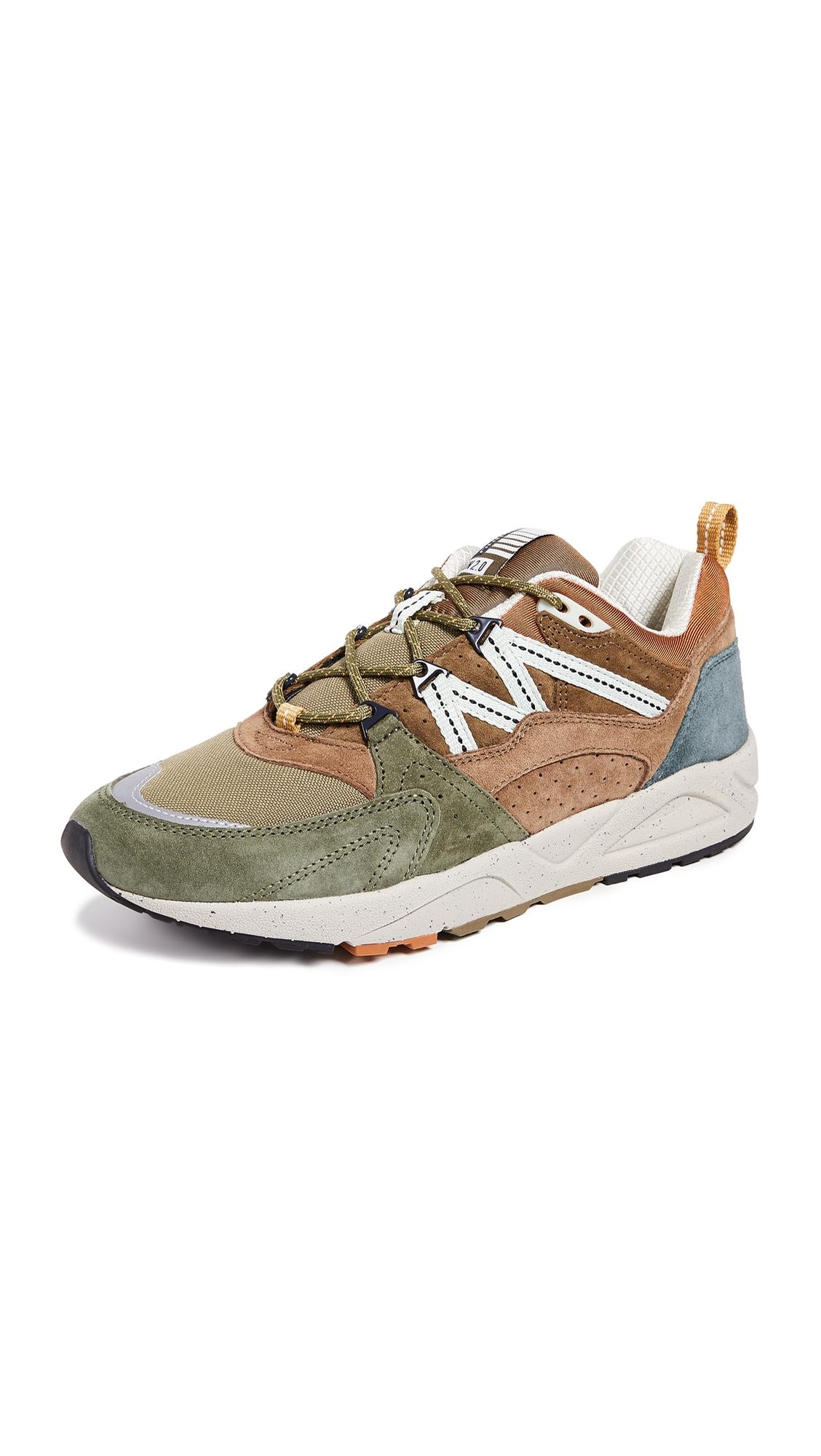 KARHU Fusion 2.0 Sneakers in Butternut/Capulet Olive
