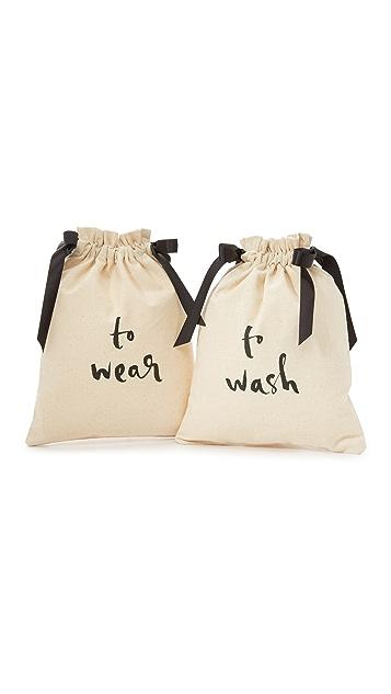 Kate Spade New York To Wash & To Wear Travel Bag Set