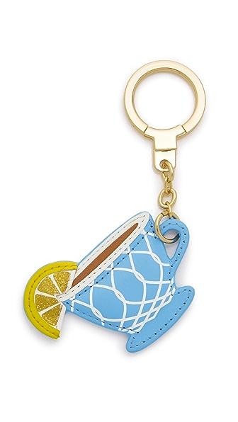 Kate Spade New York Tea Cup Keychain