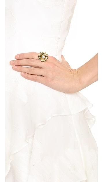 Kate Spade New York Dazzling Daisies Statement Ring