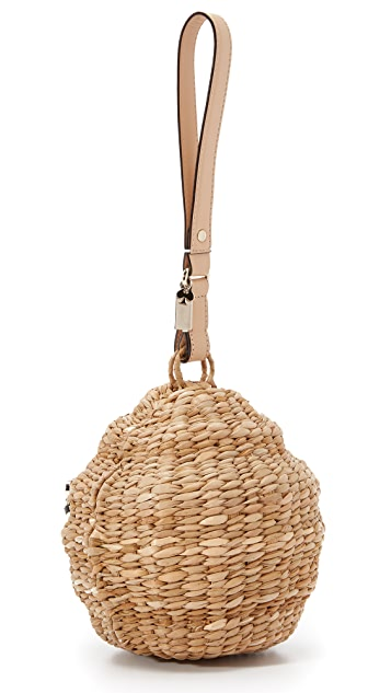 Kate Spade New York Straw Beehive Bag