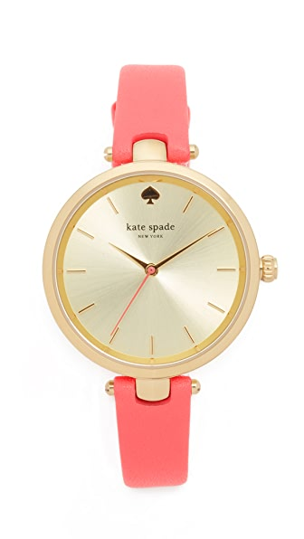 Kate Spade New York Holland Watch - Gold/Pink at Shopbop