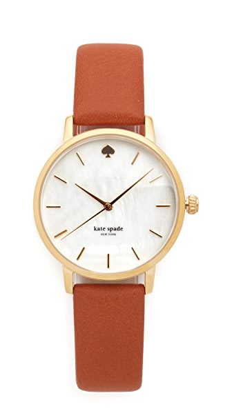 Kate Spade New York Classic Metro Watch - Gold at Shopbop