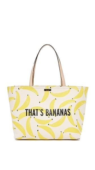 Kate Spade New York That's Bananas Francis Tote