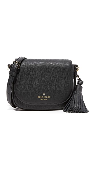 Kate Spade New York Small Penelope Saddle Bag - Black
