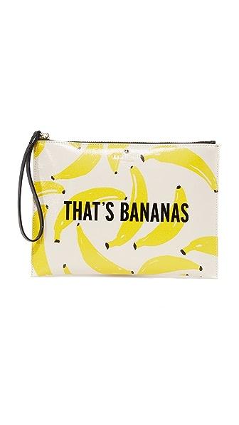 Kate Spade New York That's Bananas Bella Pouchette - Yellow Multi