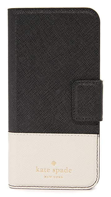 Kate Spade New York Leather Wrap Folio iPhone 6 / 6s Case