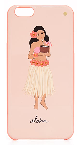 Kate Spade New York Jeweled Hula Girl iPhone 6 Plus / 6s Plus Case