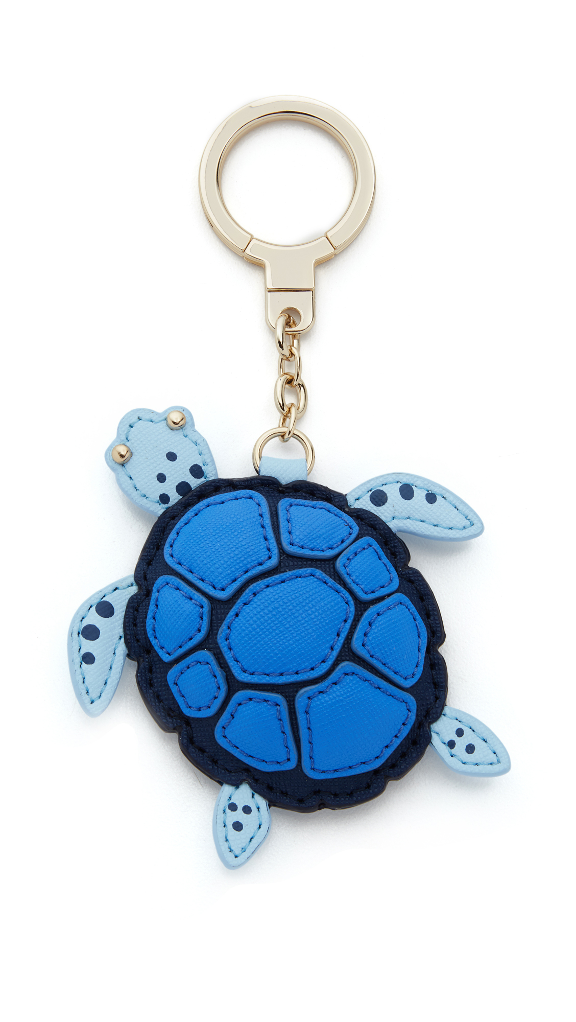 Leather Turtle Key Chain