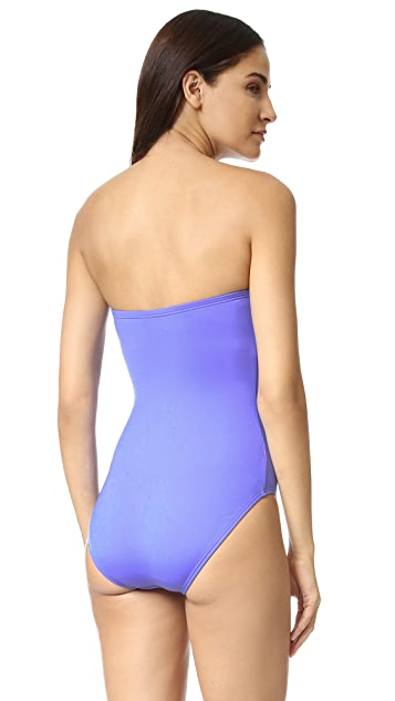 Kate Spade New York Georgica Beach Bandeau Swimsuit